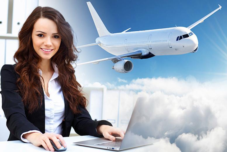 £15 instead of £199.99 (fromParker Ascott Training and Recruitment) for an airline cabin crew course - save 92%