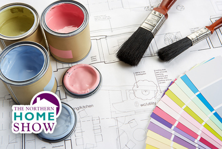 £7.50 instead of £16 for 2 tickets to The Northern Home Show at Manchester Central or £14 for 4 tickets – save up to 53%