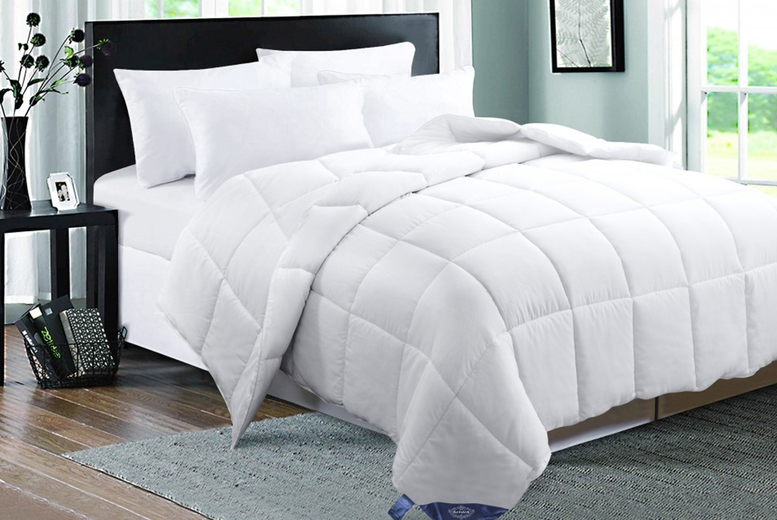 From £39.99 for a 15 Tog Duck Feather and Down Duvet – 4 Sizes! from Direct Warehouse Ltd – save up to 43%
