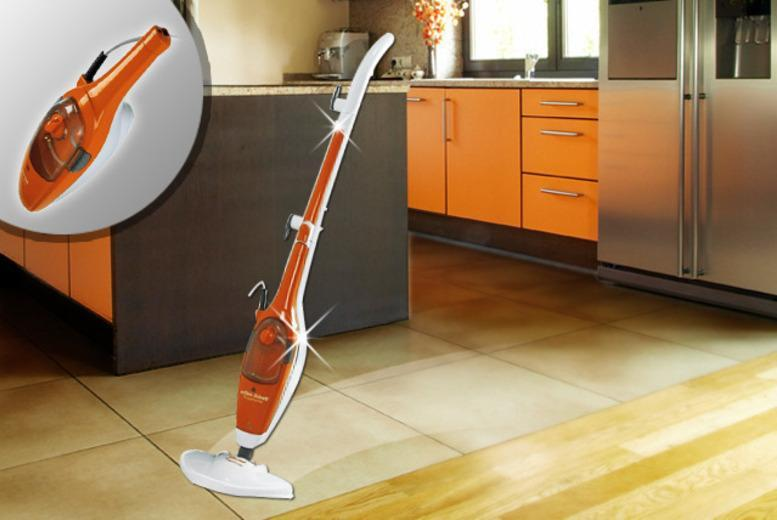 £42 instead of £79.99 (from efbe-schott) for a 7-in-1 steam mop that cleans floors, carpets and more - save 47% + DELIVERY INCLUDED