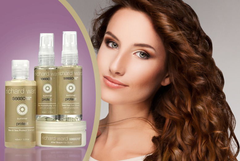 £12.99 instead of £27 (from Richard Ward Couture Hair) for a 4-piece summer hair 'protect kit' - save 52%