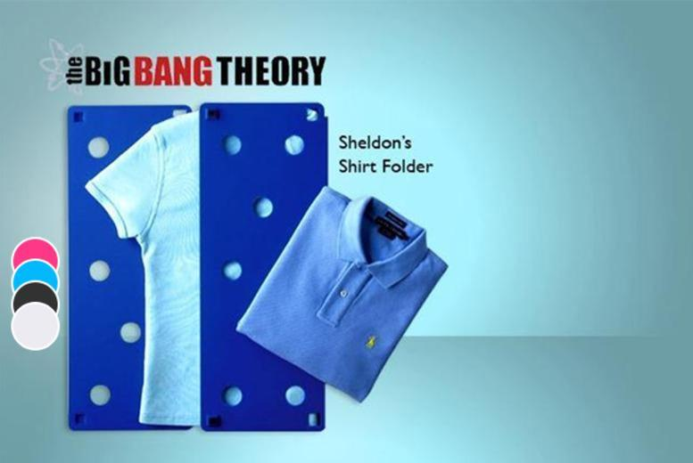 £9 instead of £30.99 (from London Exchainstore) for Sheldon's shirt folder as seen on <i>The Big Bang Theory</i> - save 71%