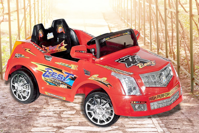 £79.99 (from Ebuyer) for a kids' Xenta electric ride-on car - DELIVERY IS INCLUDED!