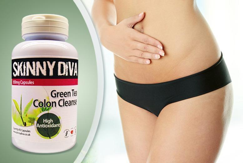 £12 (from Skinny Diva) for a 3-month* supply of Green Tea 'Colon Cleanse' tablets or £19 for a 6-month* supply - save up to 60% + DELIVERY INCLUDED