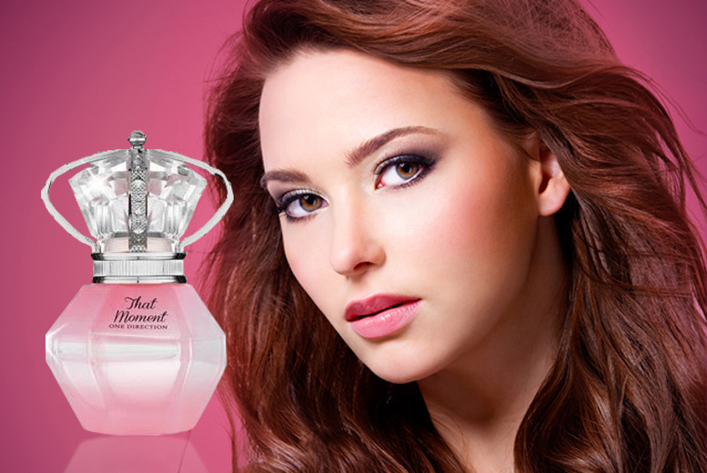 £13.95 instead of £21 (from Fragrances Cosmetics Perfumes) for a 30ml bottle of One Direction That Moment EDP - save up to 34% + DELIVERY INCLUDED