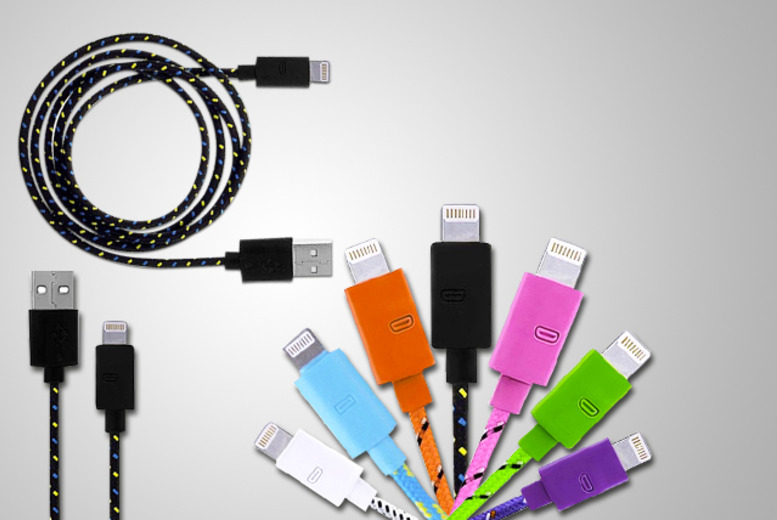 £6.99 instead of £39.99 (from Links 4) for a braided 1m iPhone 5 USB cable, £8.99 for 2, £12.99 for a 3m cable or £14.99 for 2 + DELIVERY IS INCLUDED!