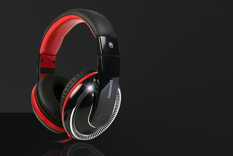 £9.99 instead of £24.99 for a pair of Nusound DJ Pro headphones from Wowcher Direct - save 60%