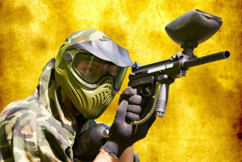 £5 for a half-day indoor paintballing experience for up to 6 people inc. 100 paintballs each with Asylum Paintball, Sheffield & Stockport - save up to 95%