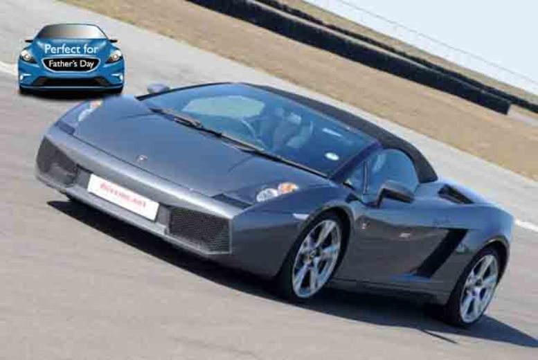 £49 instead of up to £109 for a junior or adult supercar experience with 1 car, or £89 with 2 cars at Drive Me, Stafford - save up to 55%