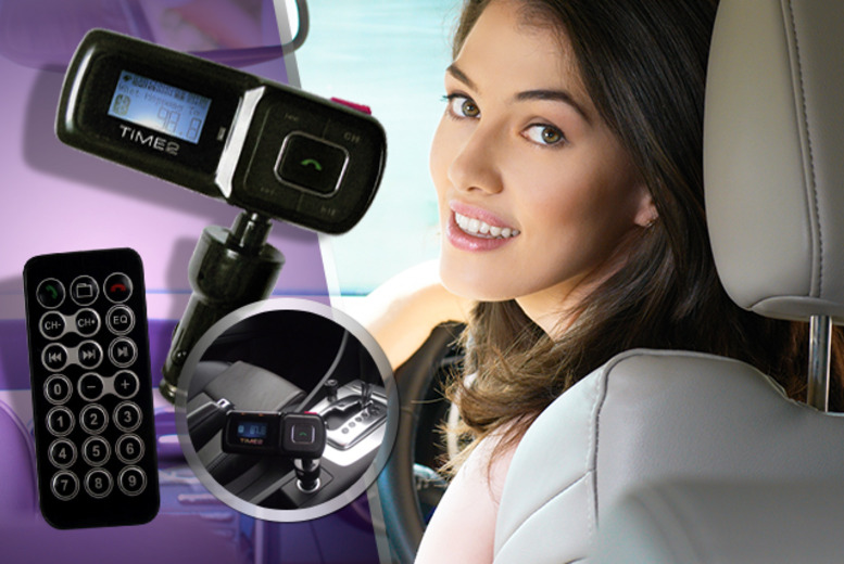 £19 instead of £54.99 (from Hedoo) for a Bluetooth hands-free car kit with FM transmitter - save 65%
