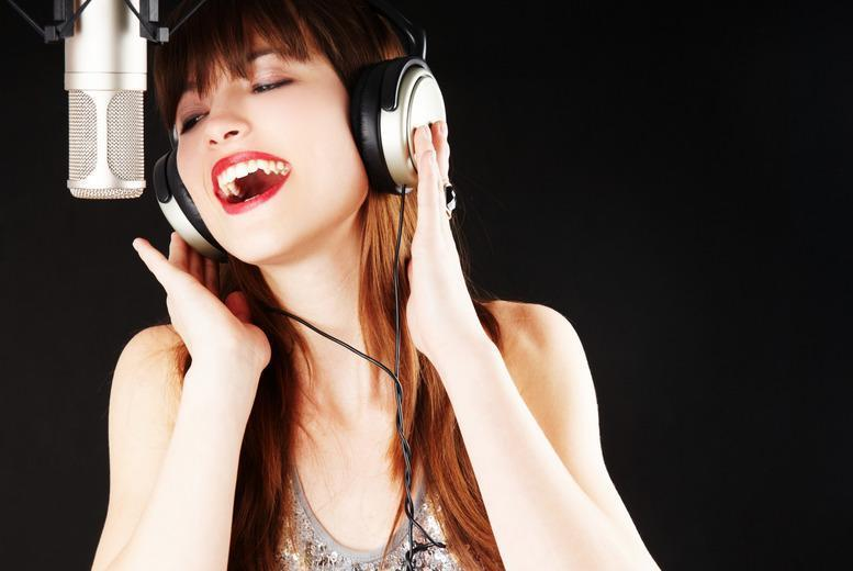 £19 for a group recording session, personalised CD, photoshoot and CD of photos to take home, from Yoo-Star, Edinburgh