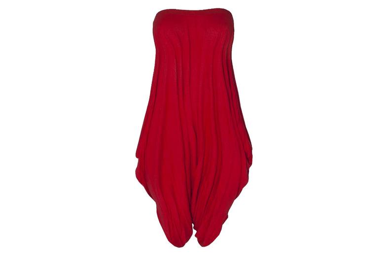Image of Bardot Harem Cropped Leg Jumpsuit | Black | Living Social