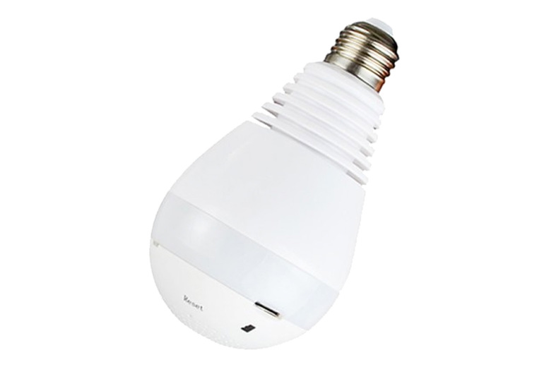Image of 2-In-1 Wireless Smart Bulb & Security Camera | Living Social