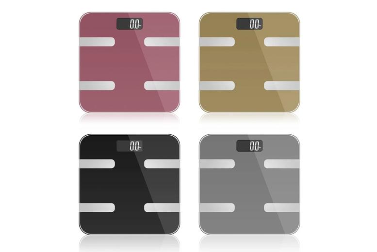 Image of Digital Bluetooth Bathroom Scales | Silver | Living Social