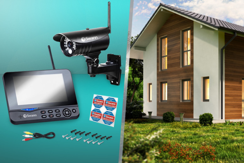 £199.99 for a Grade A-refurbished Swann ADW 350 CCTV surveillance system