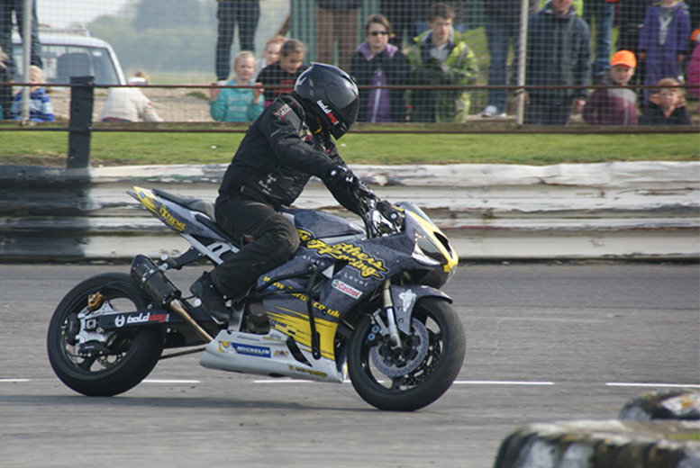 £14 for 2 adult tickets to a stock car racing or motorbike stunt event, or £18 for a family ticket at Skegness Stadium - save up to 39%