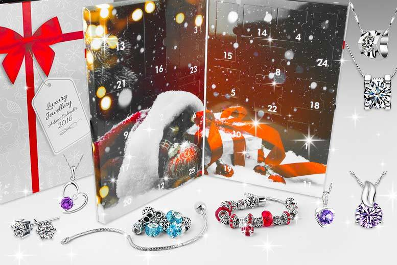 24pc luxury jewellery advent calendar