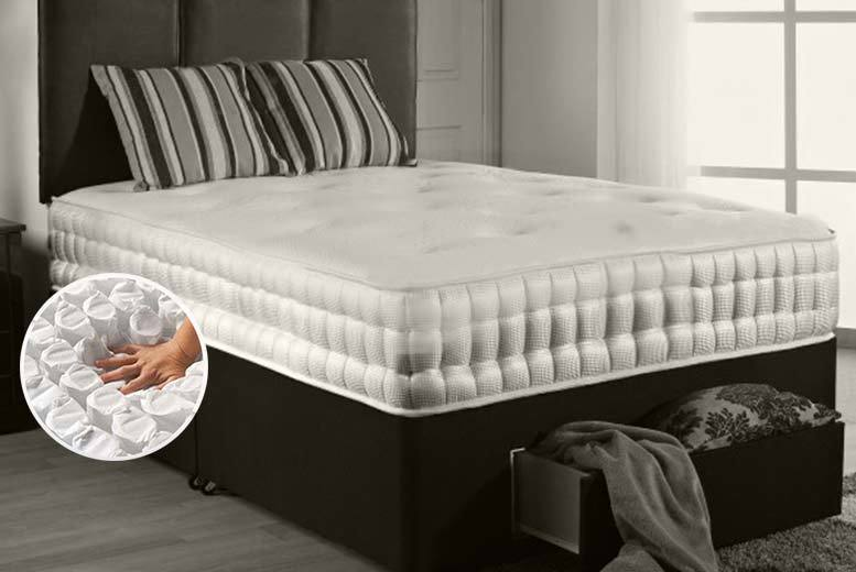 £129 (from Midnight Dreams) for a single pocket sprung mattress, £169 for a small double or double mattress, £199 for a king size mattress - save up to 77%