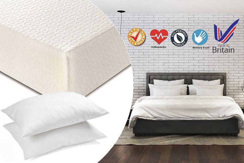 Golden Sleep Luxury Memory Foam Mattress