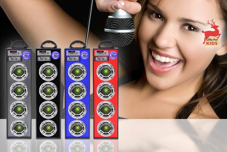 £39 instead of £99 (from TLD:Retail) for a four speaker Bluetooth karaoke system - save 72%