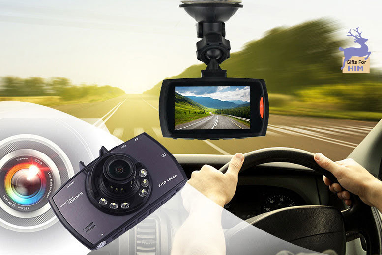 "£14.99 instead of £79.99 (from EFMall) for a 2.7"" HD in-car dashboard accident camera - save 81%"