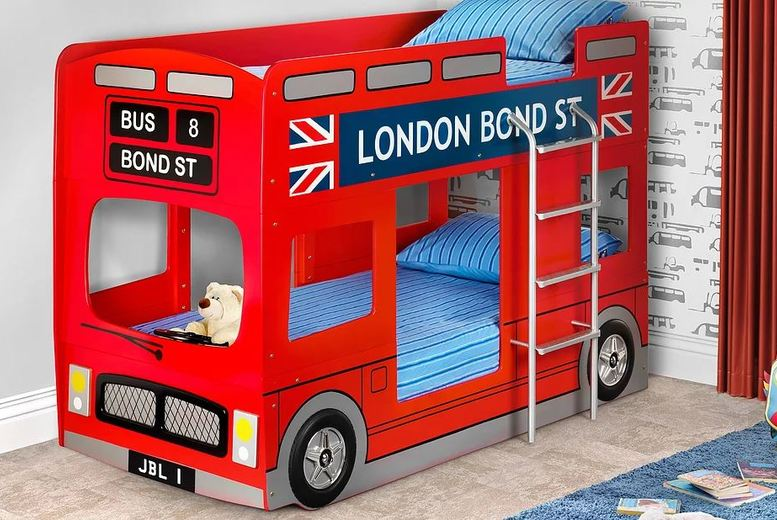 london-bus-style-red-bunk-bed-metal-ladder