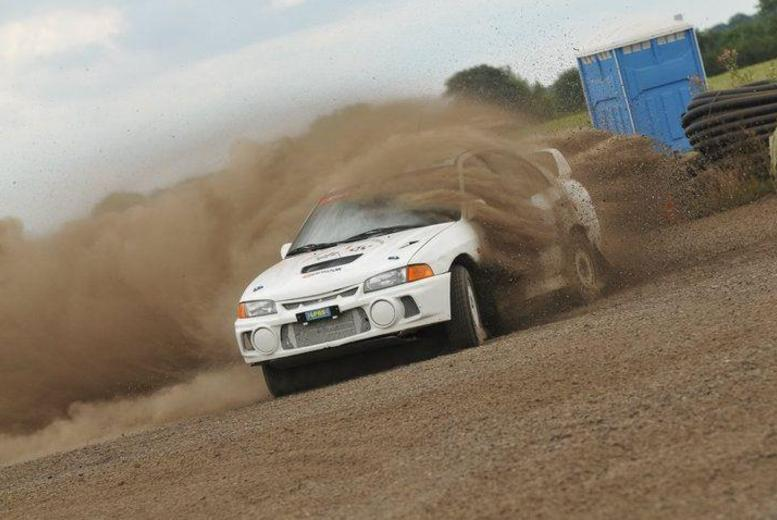 £39 for a 6-lap rally driving experience, £69 for 10 laps or £109 for 20 laps at Langley Park Rally School, Essex - save up to 59%