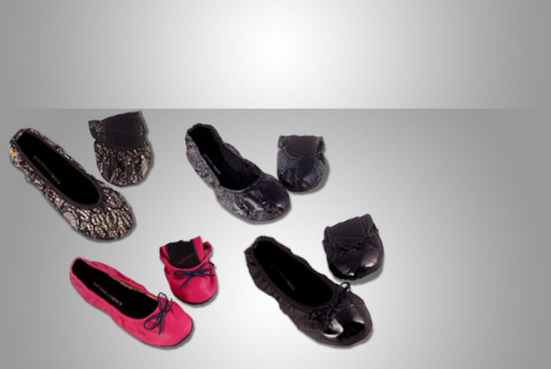 £11.99 instead of £29.99 (from Mrs Marcos) for a pair of Butterfly Twists foldable shoes in a choice of styles - 60%