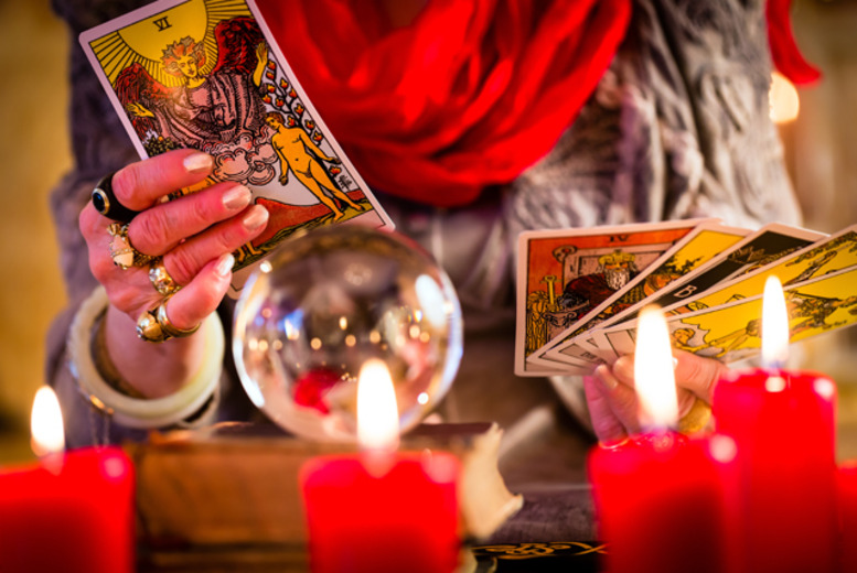 £9 instead of £40 for an angel card reading from Time to Restart, Edinburgh - save 78%