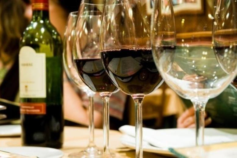 £24 for a fine wine tasting evening for 2, £80 for a vintage wine tasting evening for 2 with Dionysius Shop at a choice of 3 London locations - save up to 67%
