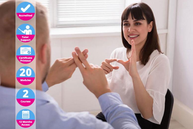 Image of British Sign Language Lvl 1 & 2 Course | UK | Living Social
