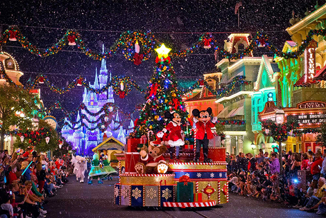 From £149pp (from Tour Center) for a two-night Disneyland® Paris Christmas-themed stay including flights and two one-day park entry tickets - save up to 27%
