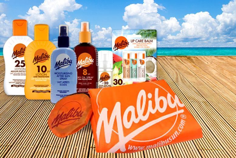 £16 instead of £30.22 (from Malibu Sun) for a 7-piece Malibu Sun holiday essentials kit - save 47%