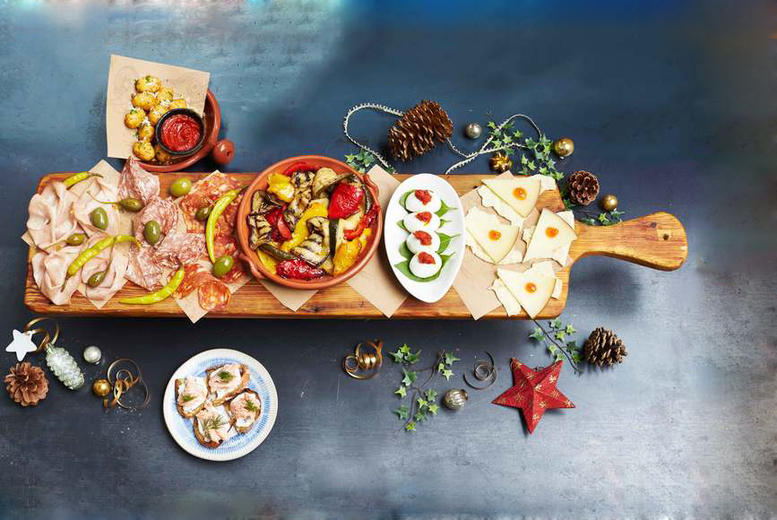 £27.99 for a three-course festive meal with a glass of Prosecco at Jamie's Italian