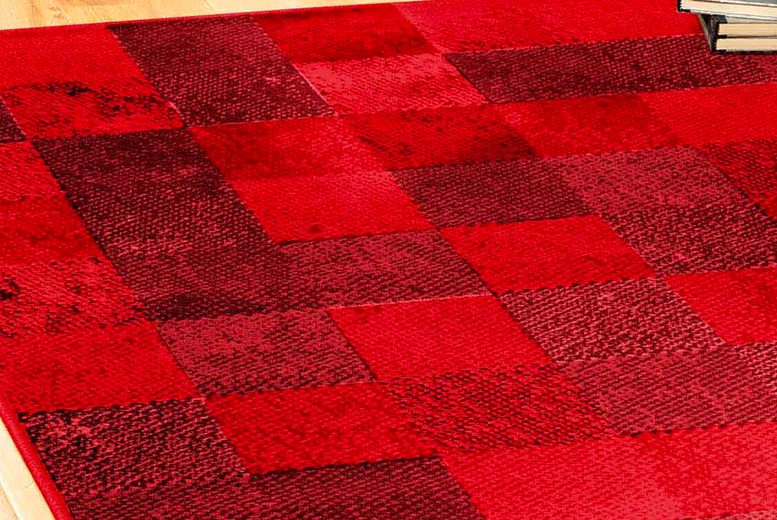 Image of Chequered Rug   Living Social