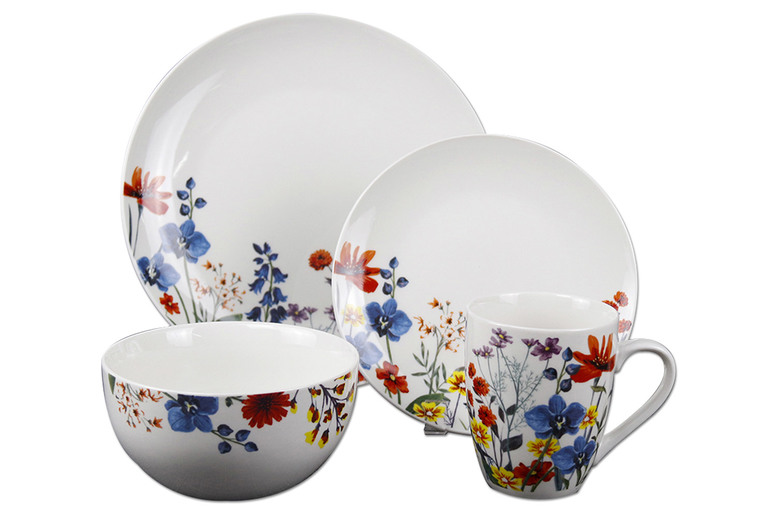 Image of 12Pc Or 16Pc Dinner Plate Set | Living Social