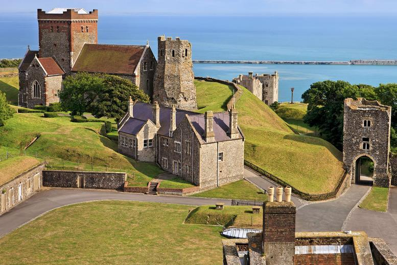 £34 instead of £79 for a luxury Canterbury, Dover and Leeds Castle coach tour with Luxury Travels and Tours - save 57%