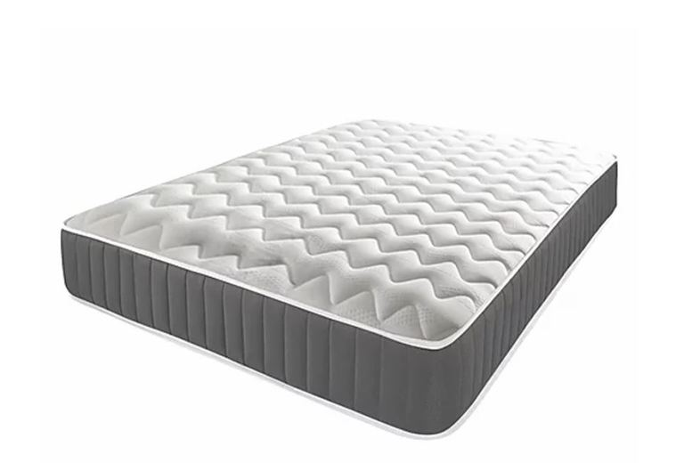 From £69 for a Grey Memory Spring Mattress – 5 Sizes! from Mattress Craft – save up to 86%