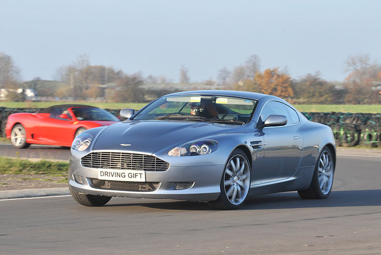 £39 instead of £99 for a one-hour Aston Martin DB9 thrill driving experience with Driving Gift, York - floor it & save 61%
