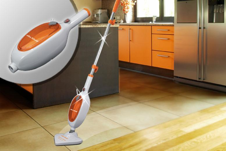 £19.99 instead of £59.99 (from efbe-schott) for a 3-in-1 steam mop, or £27.99 for including 2 extra mop pads - save up to 67%