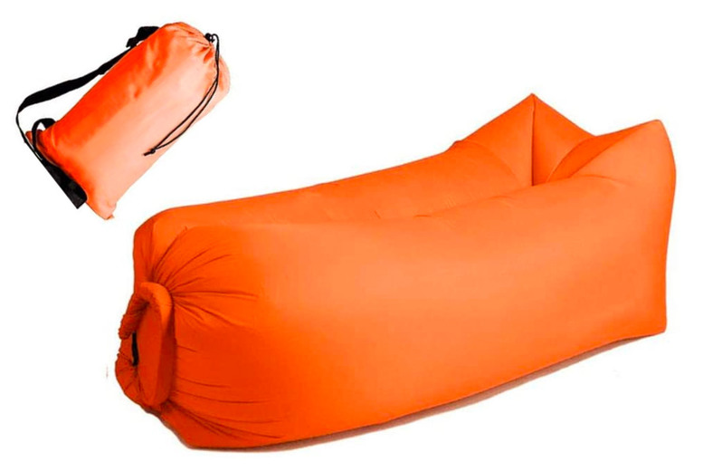 Image of Inflatable Lounger | Green | Living Social