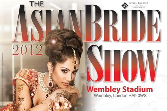 £5 instead of £10 for a ticket to the Asian Bride Show, Wembley Stadium on 28th & 29th January - get inspiration for your big day & save 50%