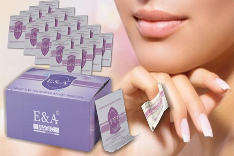 £8 instead of £32 (from Eden Organic Care) for 120 gel nail polish removal wraps, £15 for 240 wraps - save up to 75%