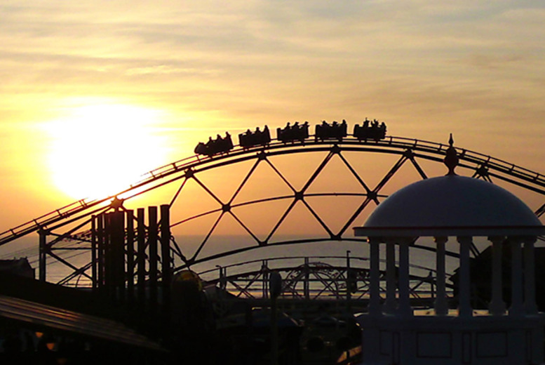 £16.99 instead of £29.99 for an 'unlimited ride' day wristband for Blackpool Pleasure Beach - save up to 43%