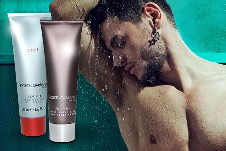 £9.99 instead of £24.99 (from Look 'N' Style) for a men's Dolce & Gabbana The One shower gel and aftershave balm set - save 60%