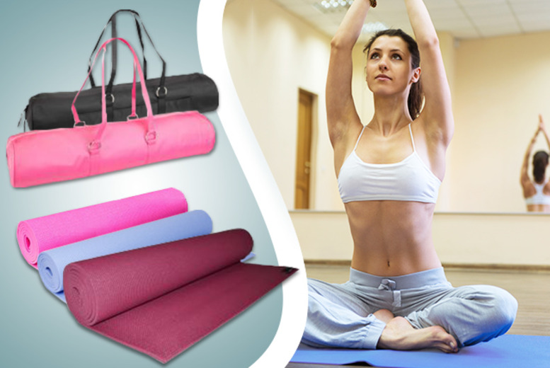 £21.99 instead of £31.95 (from Yoga Studio) for a 2-piece luxury yoga kit including a yoga mat and bag - save 31%