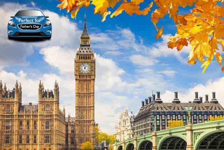 £9.50 instead of up to £19 for one adult ticket for a 3-hour London Panorama open top bus tour with Golden Tours - see London's iconic sights and save up to 50%