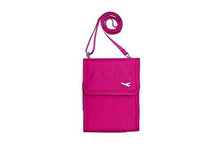 Image of Cross Body Travel Bag | Black | Living Social