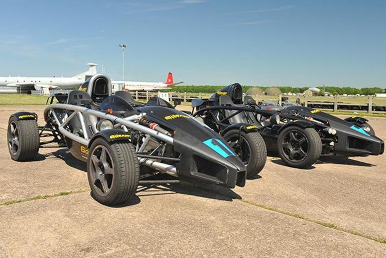 £49 instead of £99 for a 90-minute Ariel Atom supercar driving experience at 6th Gear Driving Experience - choose from 4 locations and save 51%
