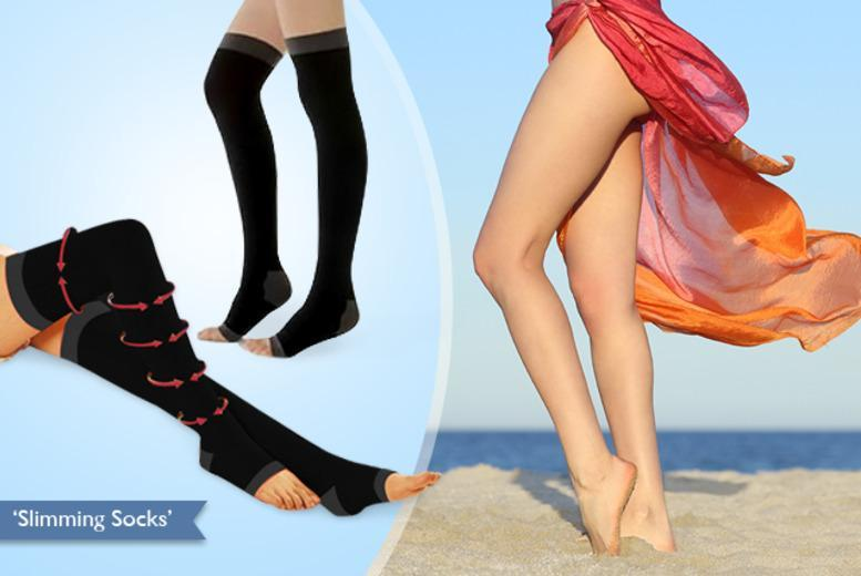 £6 instead of £24.99 (from Eden Organic Care) for a pair of compression socks, £10 for two pairs - save up to 76%